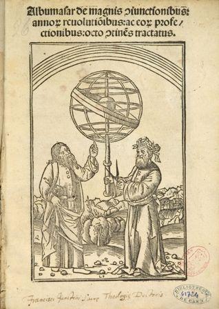 Naslovnica Albumasarove knjige 16.st.
