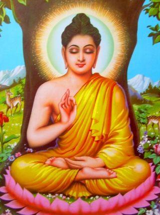 Vishnu Avatar Buddha