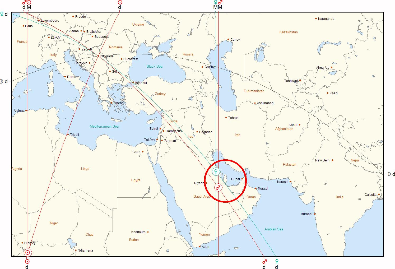 dubai karta sveta REKTIFIKACIJA HOROSKOPA PUTEM ASTROKARTOGRAFIJE » Astro portal dubai karta sveta